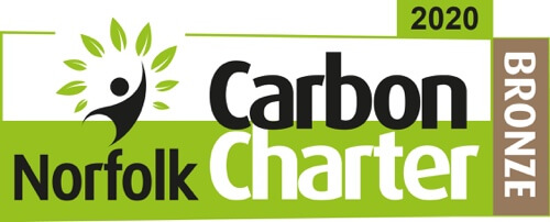 2020 Carbon Charter Norfolk Logo - Bronze