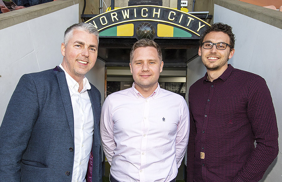 Photo for We're the Official Digital Partner to Norwich City Football Club
