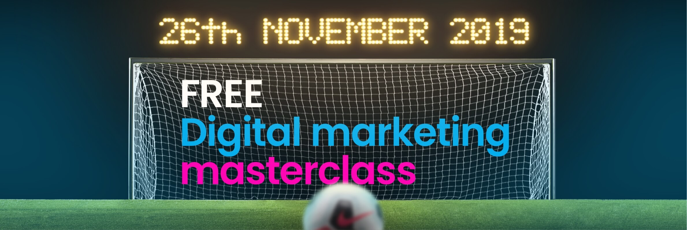 Photo for A free digital marketing masterclass at Norwich City Football Club