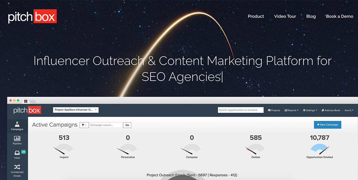 pitchbox - outreach and content marketing platform for marketers